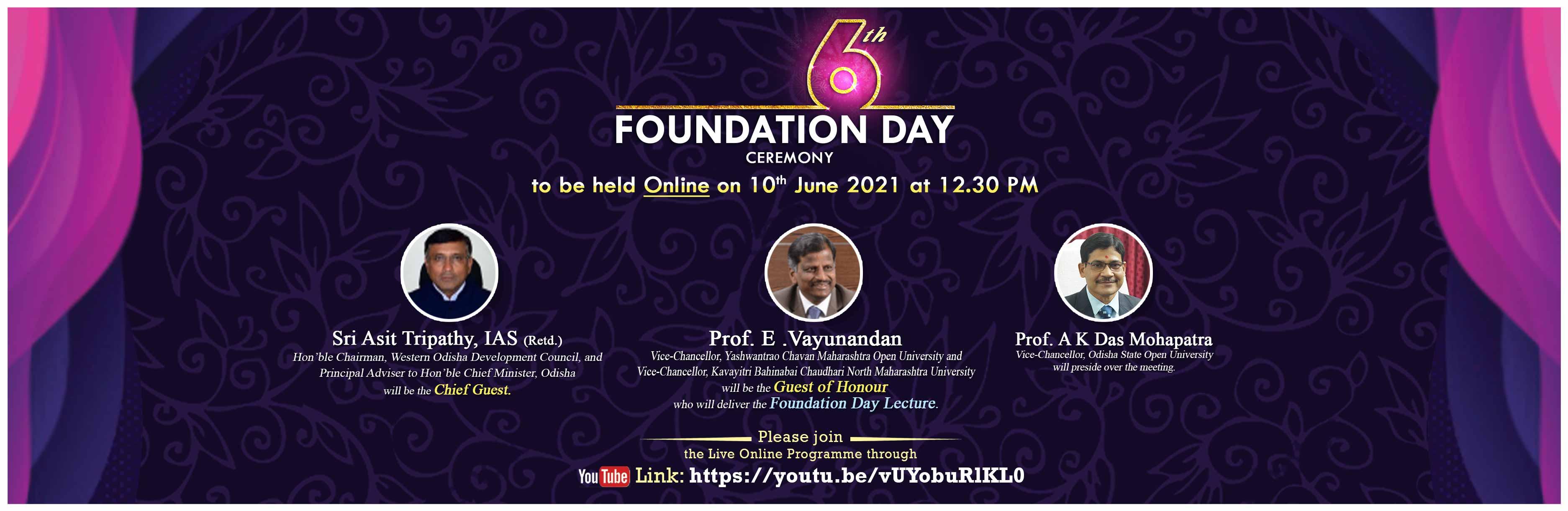 6th Foundation Day