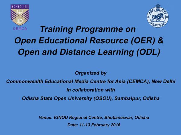 OER ODL Training