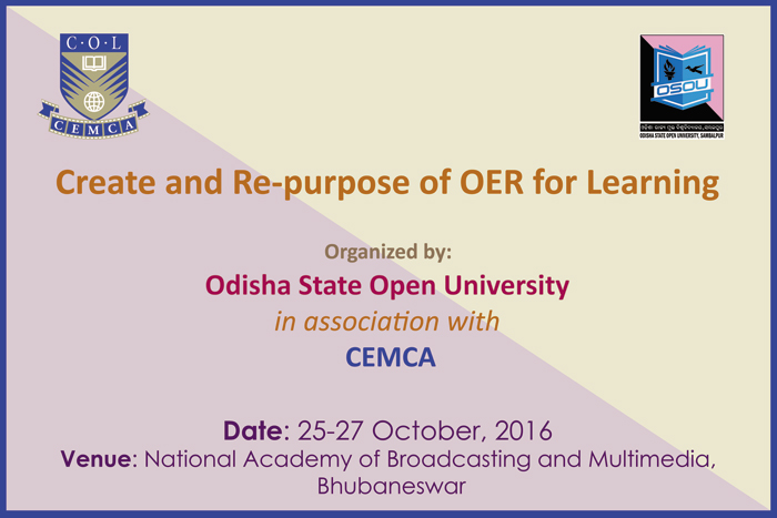 Workshop on Create and Re-purpose OER