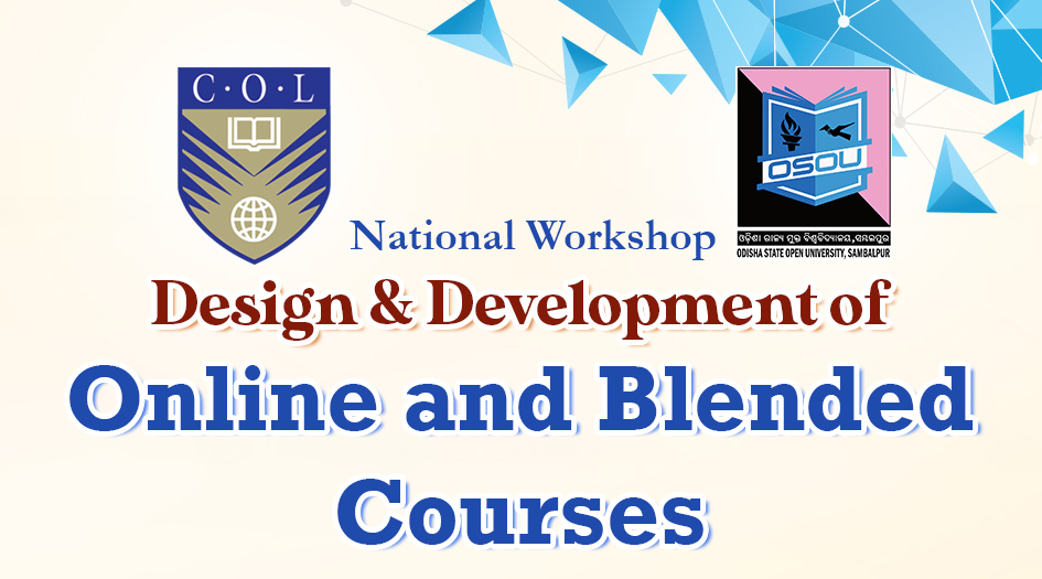 National Workshop on Design, Development of Online & Blended Course