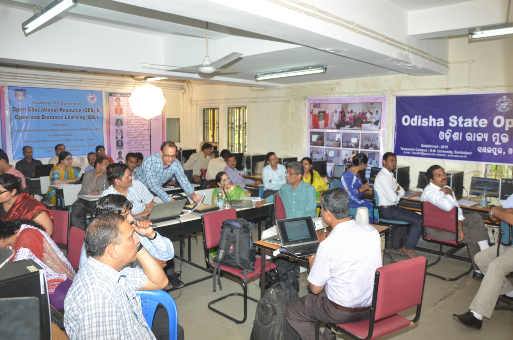 Day 2 Photo of Training Programme on OER & ODL