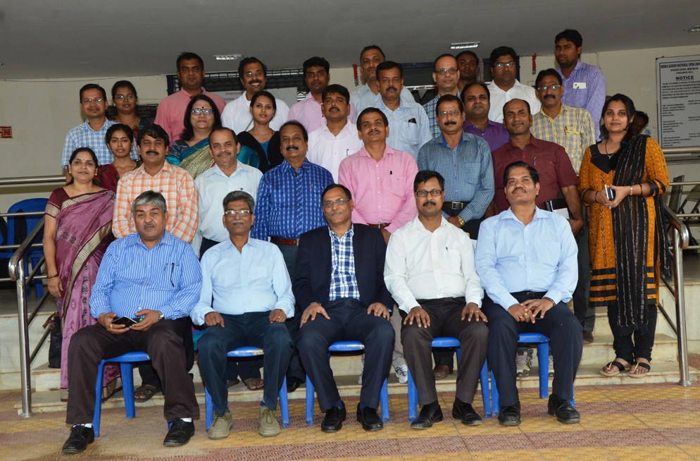 Group Photo of Training Programme on OER & ODL on 11-13 Feb 2016 at Bhubaneswar