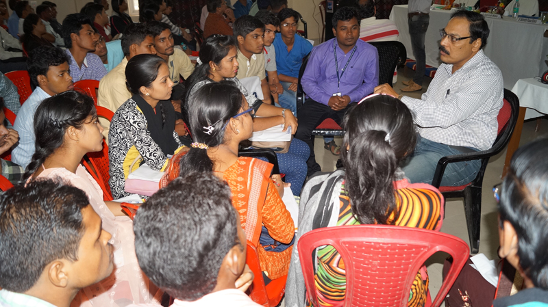 Induction Meeting on 18th August 2016 at Sambalpur