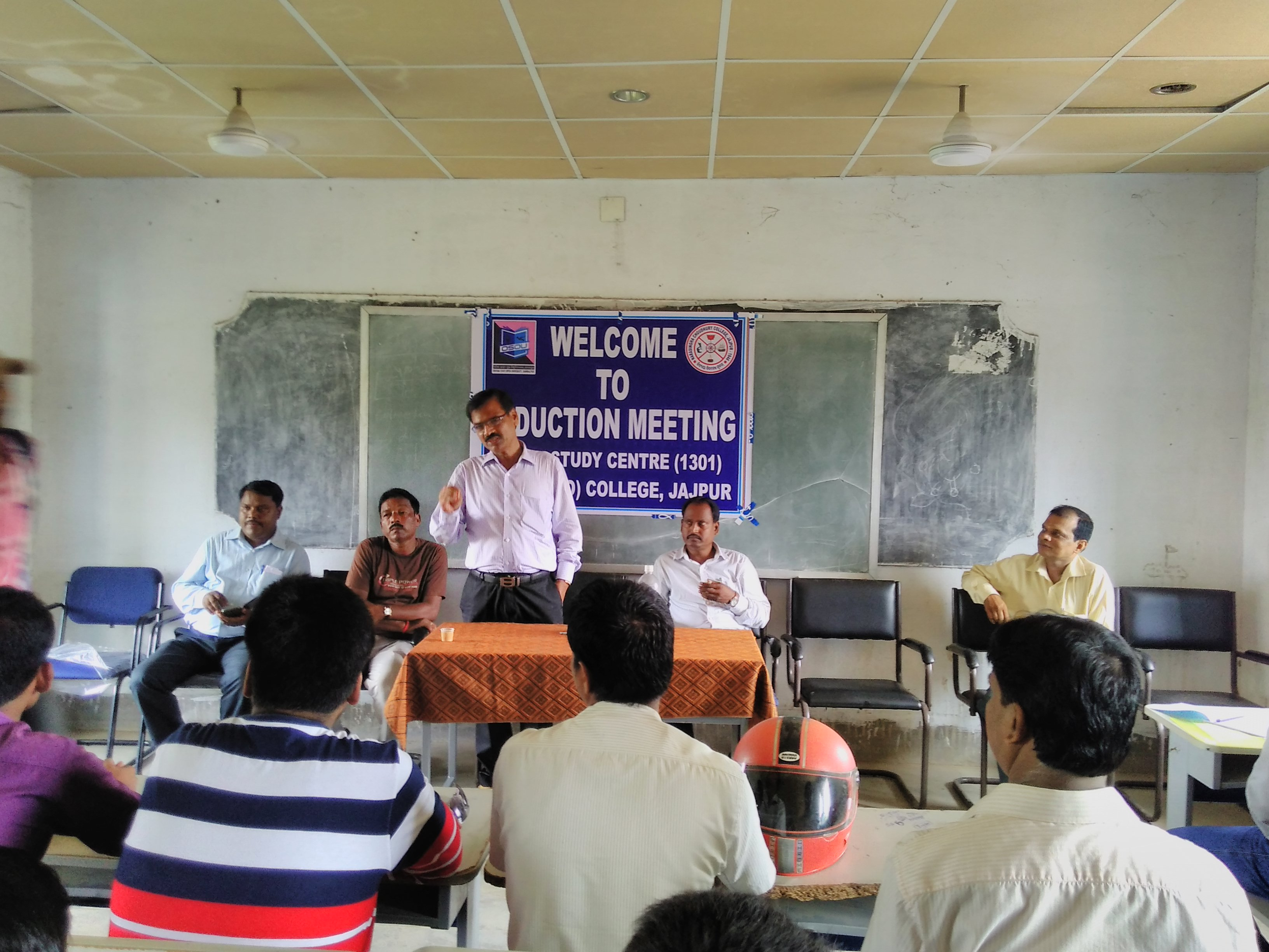 Induction Meeting at Narasingh Choudhury (Autonomous) College, Jajpur