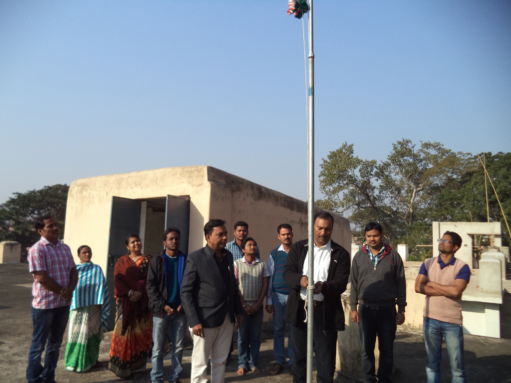 67th Republic Day observation at OSOU, Sambalpur Headquarter