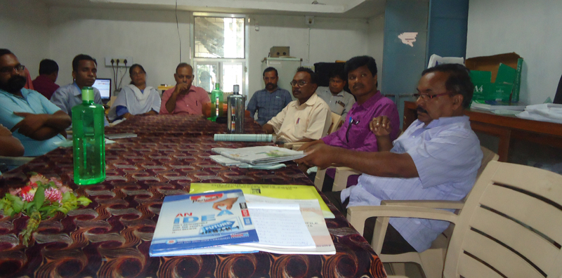 Induction Meeting at Kuchinda College