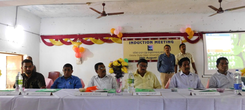 Induction Meeting at Malyagiri Mahavidyalaya, Pallahara