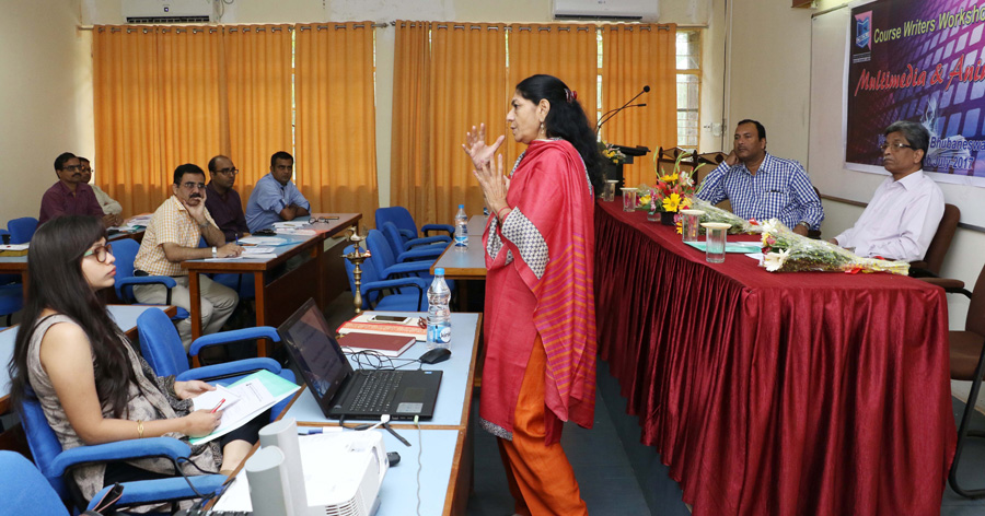 Course Writers' Workshop on Diploma in Multimedia and Animation