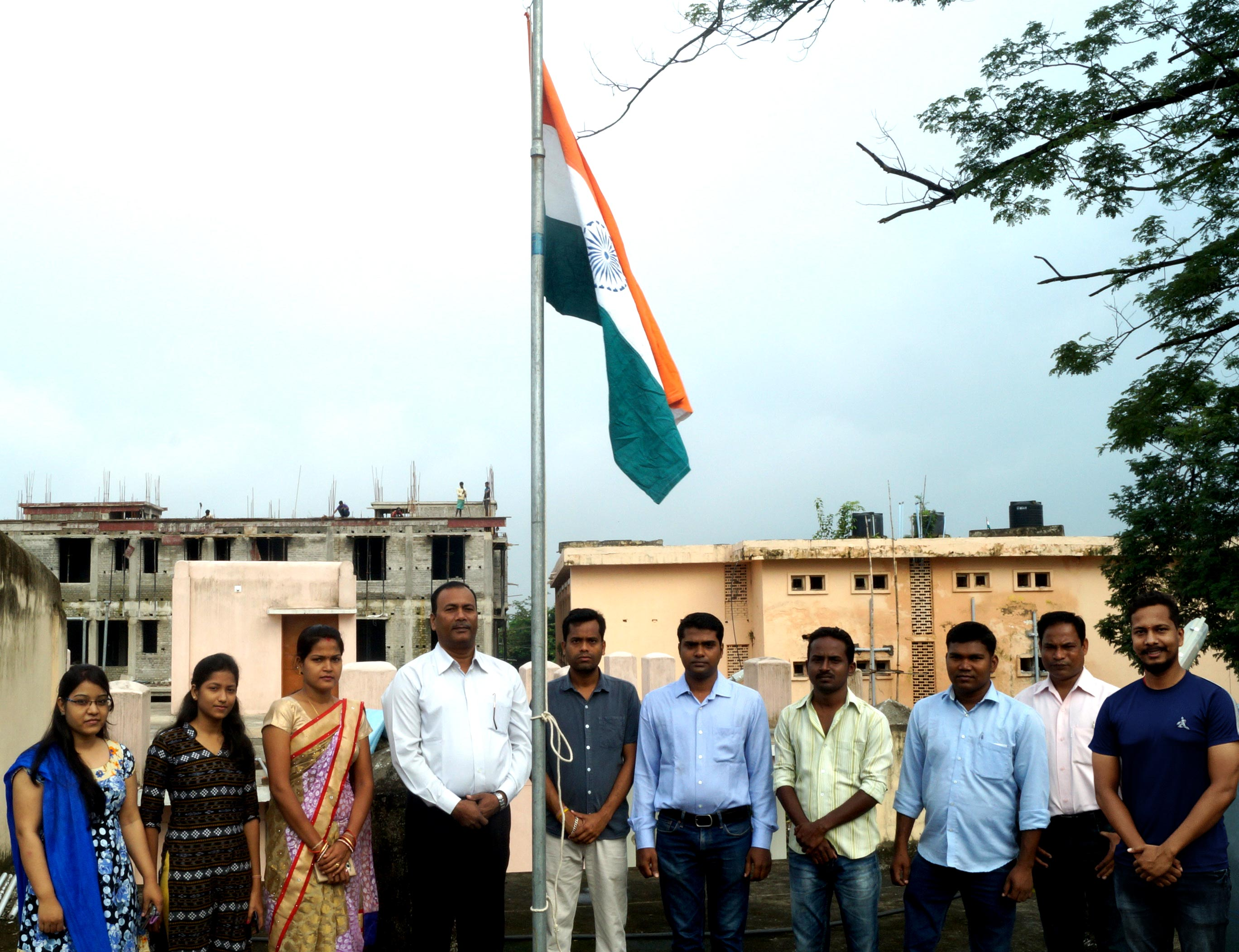 71th Independent Day Celebration at OSOU Headquarters