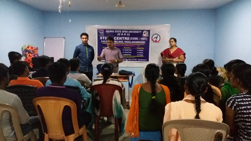 Pre-admission Counselling at SKCG Autonomous College