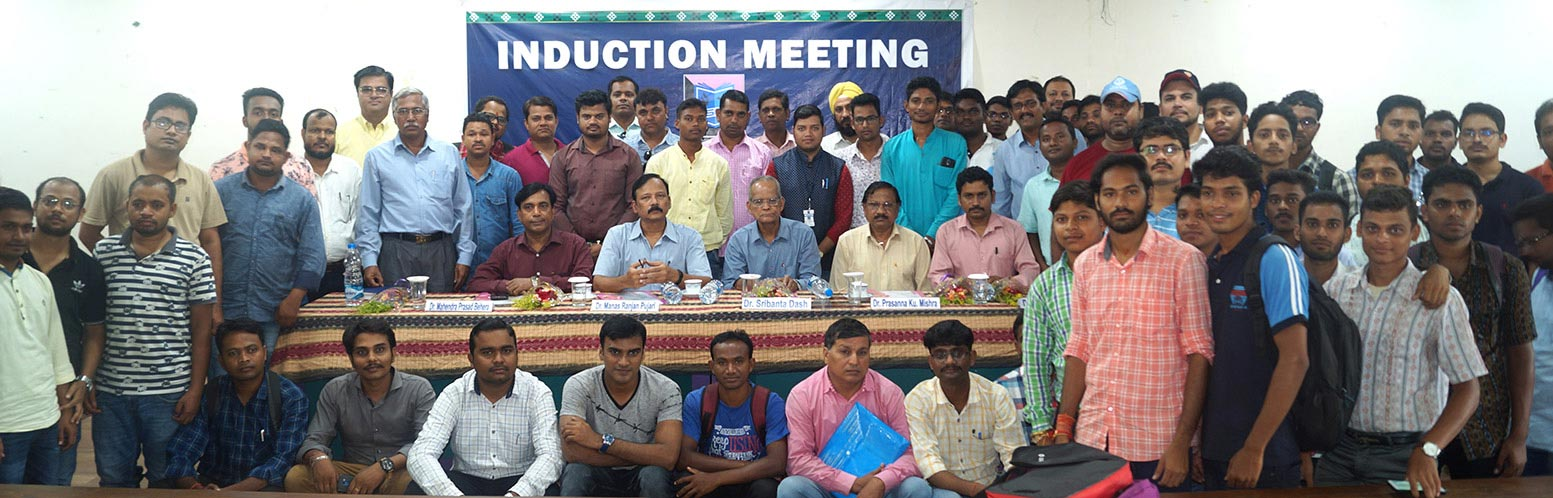 Induction Meeting July 2019