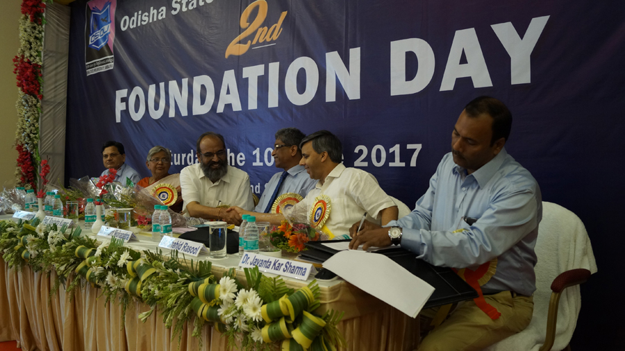 Celebration of Second Foundation Day of OSOU on 10th June 2017 at Sambalpur