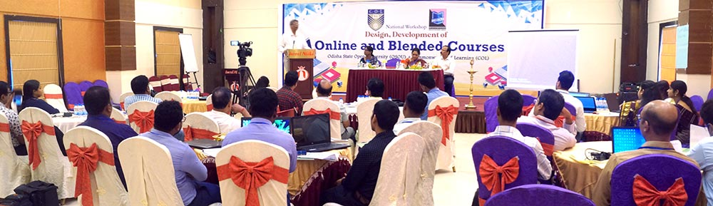 National Workshop on Design, Development of Online and Blended Courses