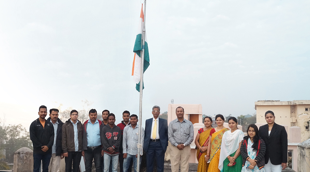 68th Republic Day Celebration at OSOU Headquarters