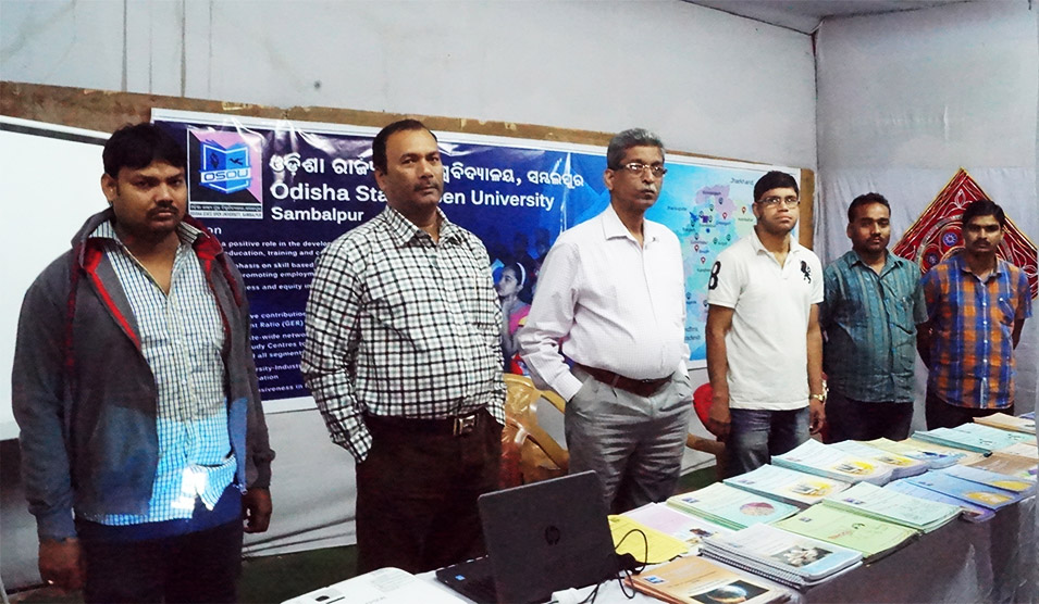 17th Sambalpur Book Fare 2017 for OSOU