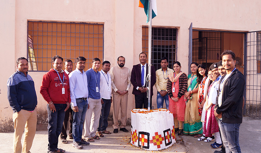 Republic Day 2018 Celebration at OSOU HQ SBP