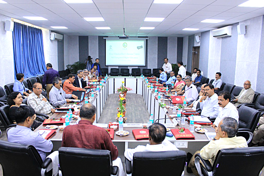 Centurion hosted round table of Vice Chancellors and Chairman PG Council of 13 Universities of Odisha on 23rd Feb at Bhubaneswar campus.