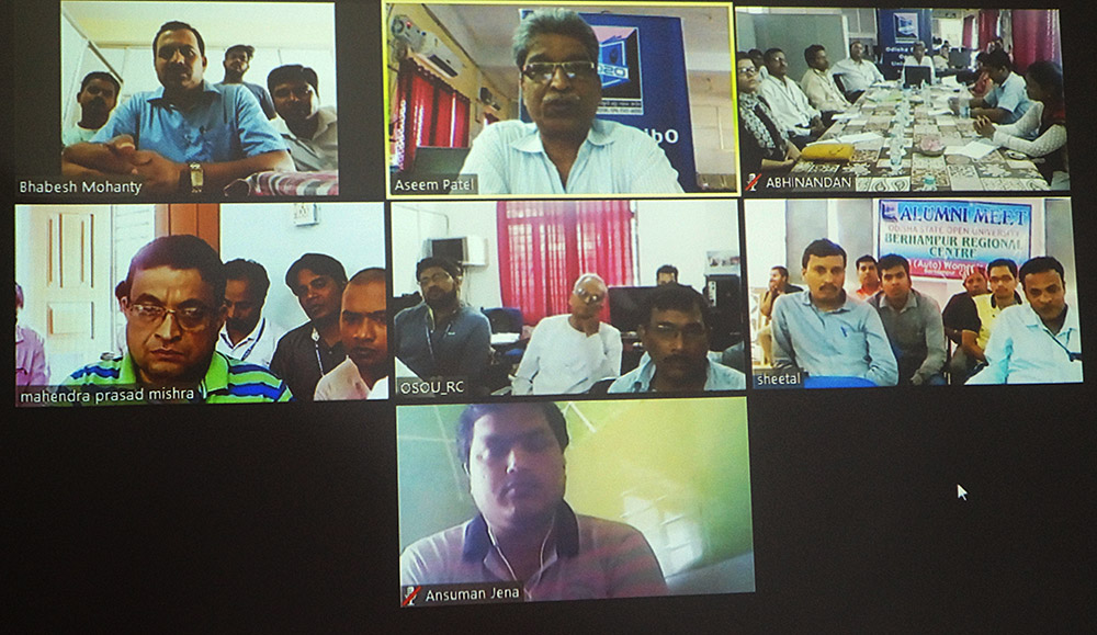 ALUMNI MEET 2018 via Web Conference