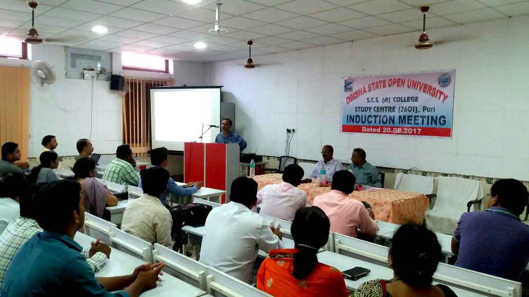 Puri Induction Meeting 2017-18